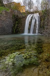 Barjols en cascade