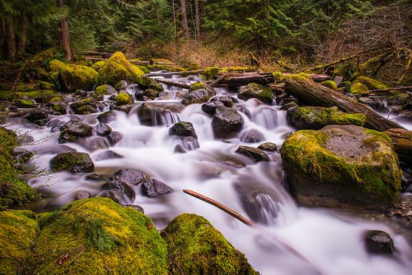 Carbonado Road Waterfall