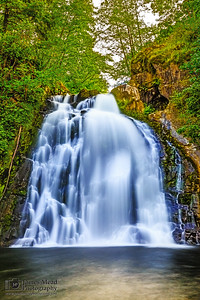 """Angel's Hair,"" Youngs River Falls, Oregon Coast, Oregon"