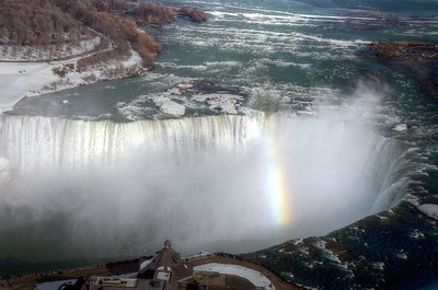 Rainbow at Horseshoe Falls
