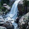 Alberta Falls in Rocky Monuntain National Park, Colorado.