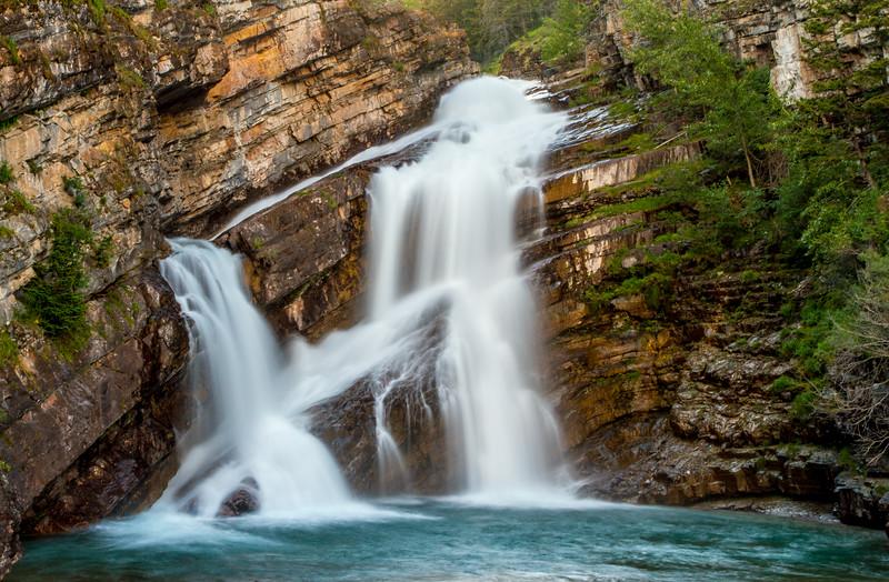 Cameron Falls, Waterton Lakes Natioanl Park