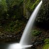 Ponytail Falls in Columbia River Gorge, Oregon