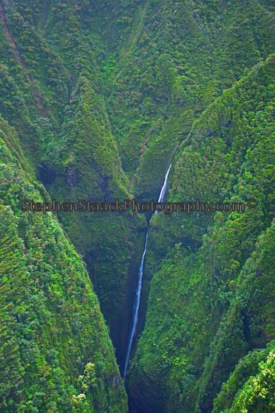 Sacred Waterfall, Oahu, Hawaii