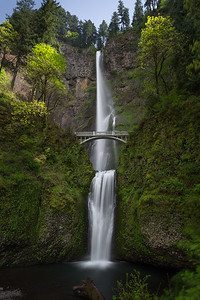 Multnomah Falls, tallest in Oregon and quite bewitching.