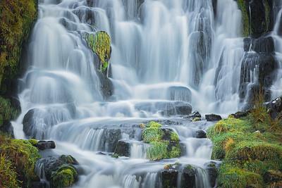 Bride's Veil Falls. Isle of Skye, Scotland