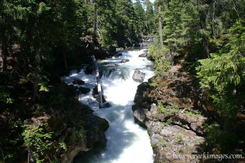 Rogue River at Natural Falls, Oregon