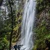 Routeburn Track Waterfall