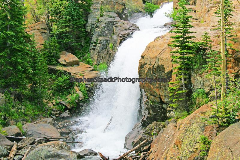 Quezal Falls. Colorado.