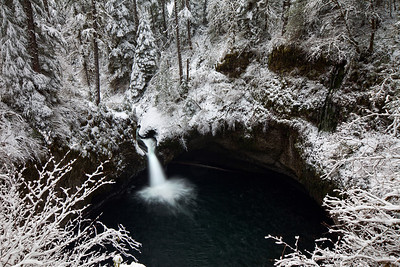 Snowy Punchbowl Falls I