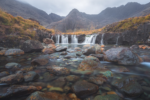 Fairy Pools. Isle of Skye, Scotland