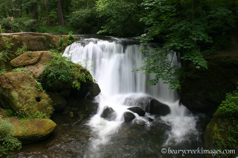 Whatcom Falls, Cascade Mountains, Washington