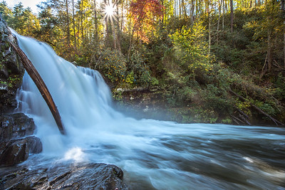 Abram Falls in Fall