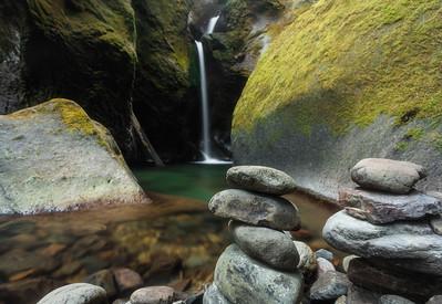 Shadow Falls in the Umpqua National Forest, Oregon
