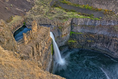 Looking Down on Palouse Falls