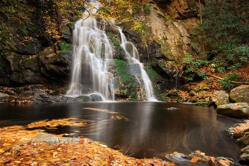Spruce Flats Falls - Autumn