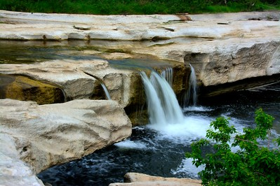 McKinney Falls on  Onion Creek