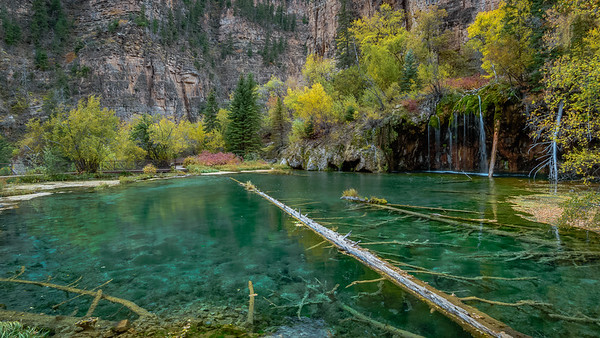 Turquoise Blue Waters of Hanging Lake