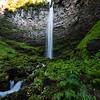 Wallace Falls in the Umpqua Region of Oregon