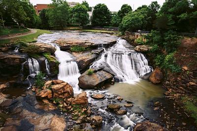 falls park, sc