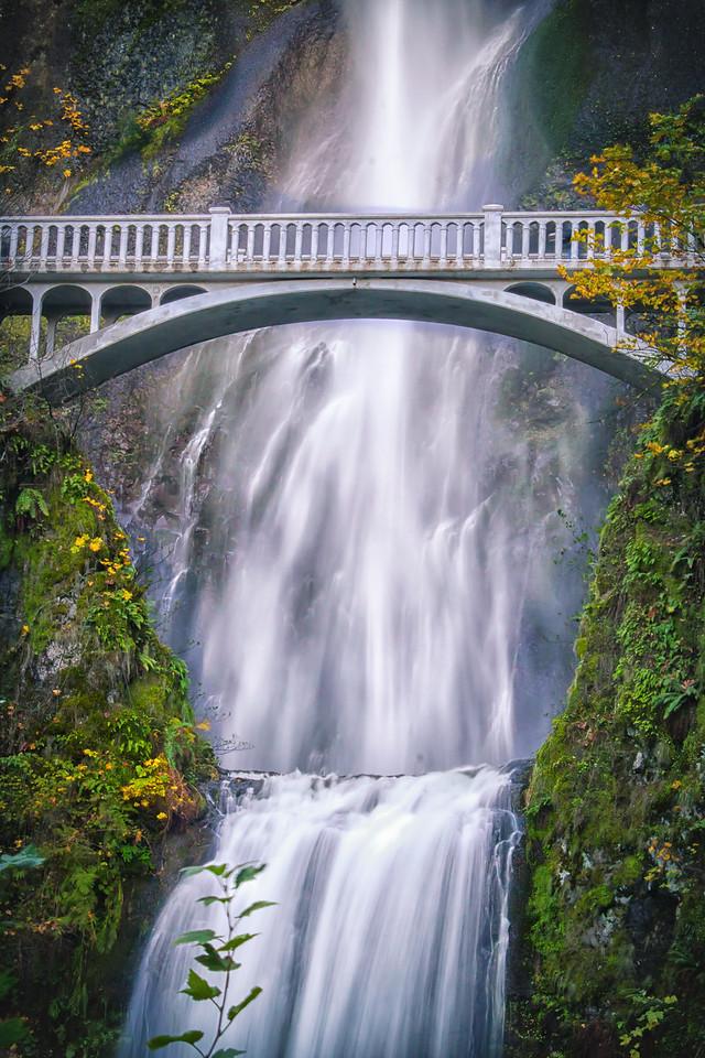 Multnomah Falls upclose