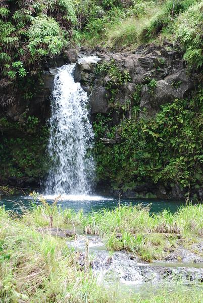 Waikani Falls Maui Picture