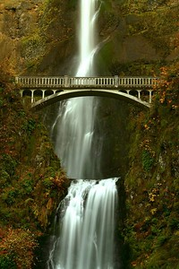 Bridge Over Multnomah Falls