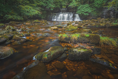 Cotter Force Falls, Yorkshire Dales