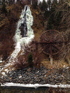 Frozen Charlie Taylor Water Wheel