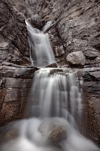 Maligne Lake Waterfall