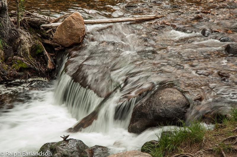 A cascade in Rocky Mountain National Park.