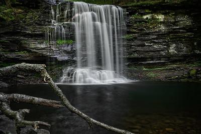 Harrison Wright Waterfall - Ricketts Glen State Park