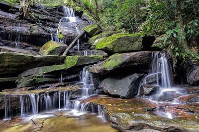 Somersby Falls (bottom falls)