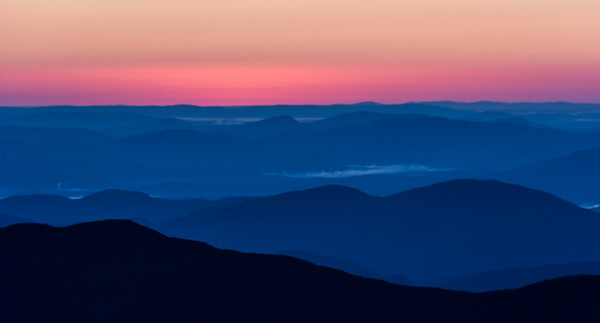 Blue Hour from Mt. Washington