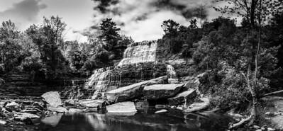 Albion Falls panorama