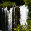 A waterfall in the Oregon Cascades.