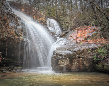 Big Leatherwood Falls (2)