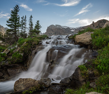 Waterfall near Lake Isabelle - Colorado