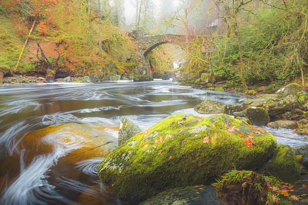 The Hermitage. Dunkeld, Scotland
