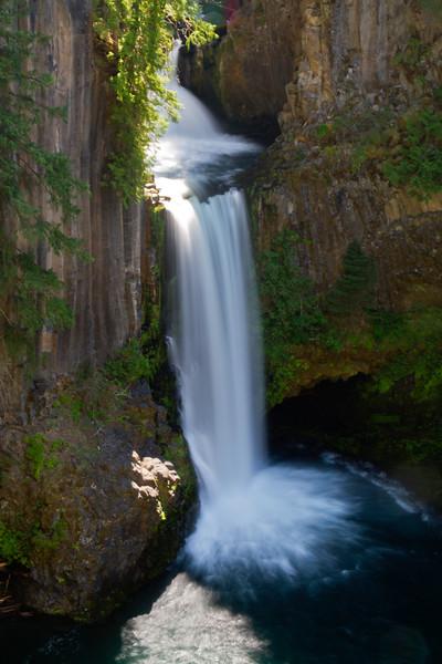 Toketee Falls, North Umpqua River