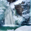 Winter Encapsulates Bingham Falls