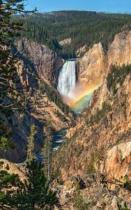 Lucky Lower Falls
