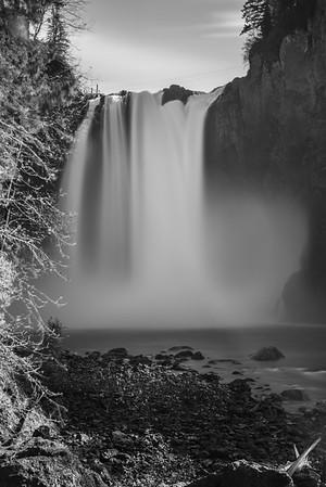 Snoqualmie Falls BW