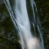 A detail of Madison Falls near Lake Crescent, Olympic National Park, Washington.