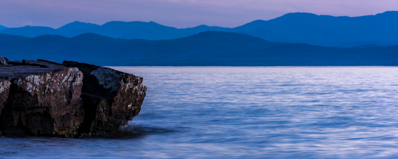 Blue Hour on Lake Champlain