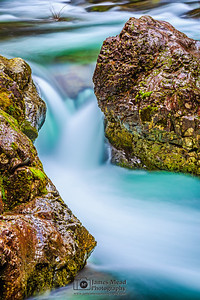 """The Chute,"" Washougal River, Washington"