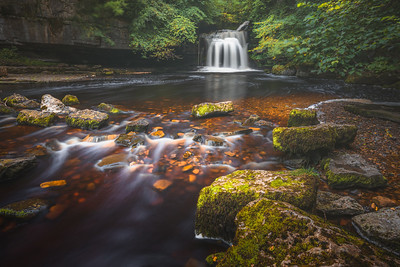 West Burton Falls, Yorkshire Dales