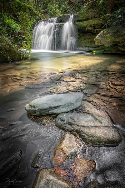 Waterfalls at Cane Creek (Sunset,SC)