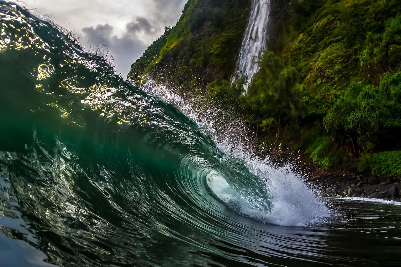 Kaluahine Falls