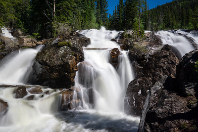 Waterfall in Nederland, Colorado